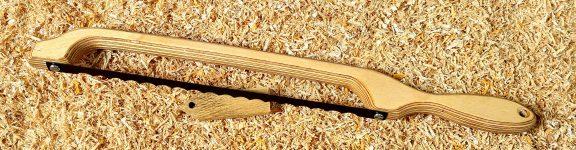 Birchplywood Handle Fiddle Bow Bread Knife